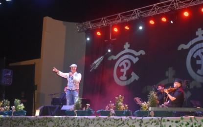 Paco Candela comenzó con fuerza y pasión los conciertos de las fiestas de Ciudad Real 2021