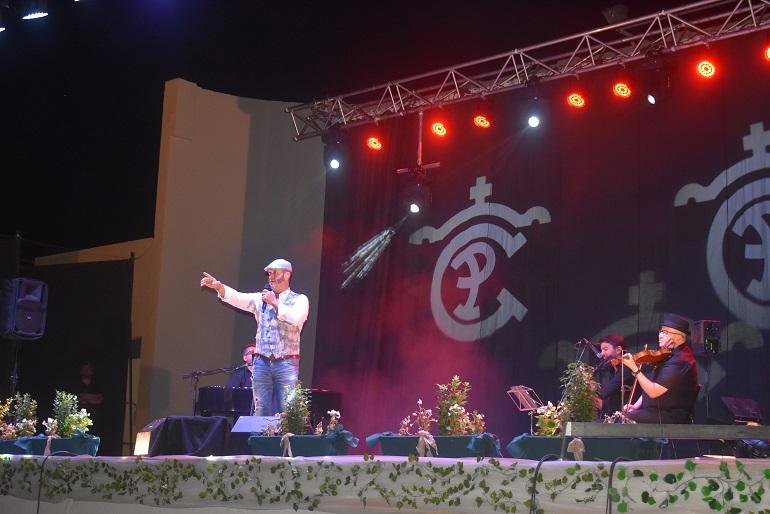 Paco Candela comienzó con fuerza y pasión los conciertos de las fiestas de Ciudad Real 2021