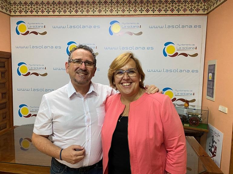 Luis Díaz- Cacho, alcalde de La Solana, renuncia a su cargo para incorporarse al equipo de la ministra de Política Territorial, Isabel Rodríguez