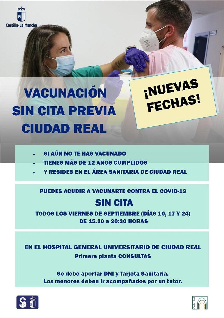 Nuevas jornadas de vacunación en septiembre 2021