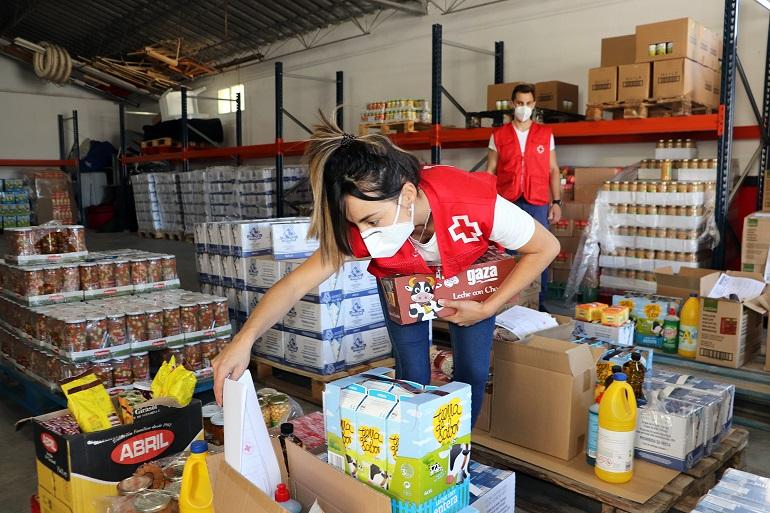 Ciudad Real Cruz Roja reparte en la provincia más de 213.000 kilos de alimentos a 6.412 personas